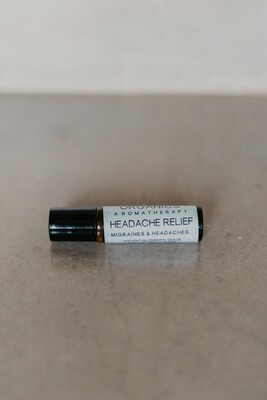 Aromatherapy Roller - Head Ache Relief