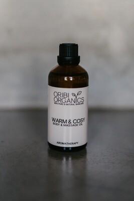 Body & Massage Oil - Warm & Cosy - 100ml