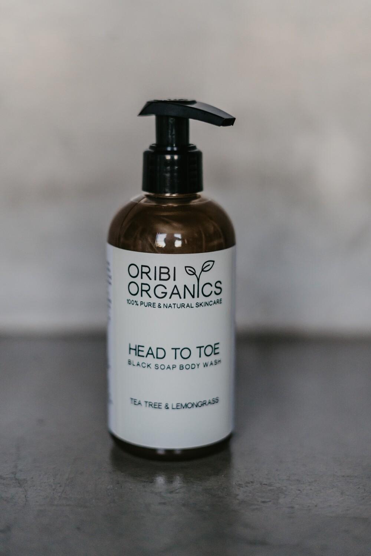 Head-To-Toe Cleanser - Tea Tree & Lemongrass - 250ml