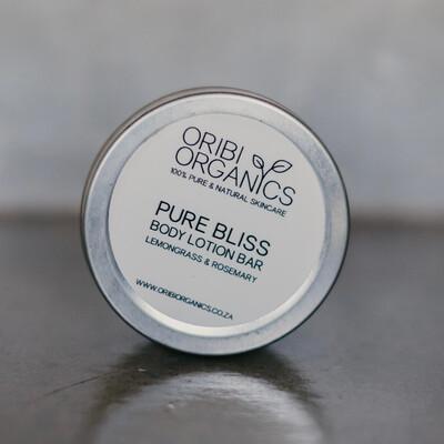 Solid Lotion Bars - Pure Bliss (Lemongrass & Rosemary) -70g
