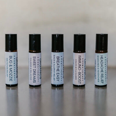 AROMATHERAPY ROLLER SET OF 5