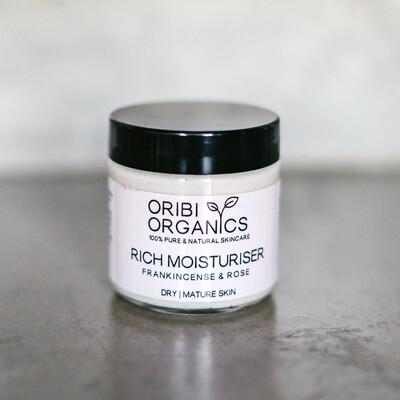 Rich Moisturiser - Frankincense & Roses