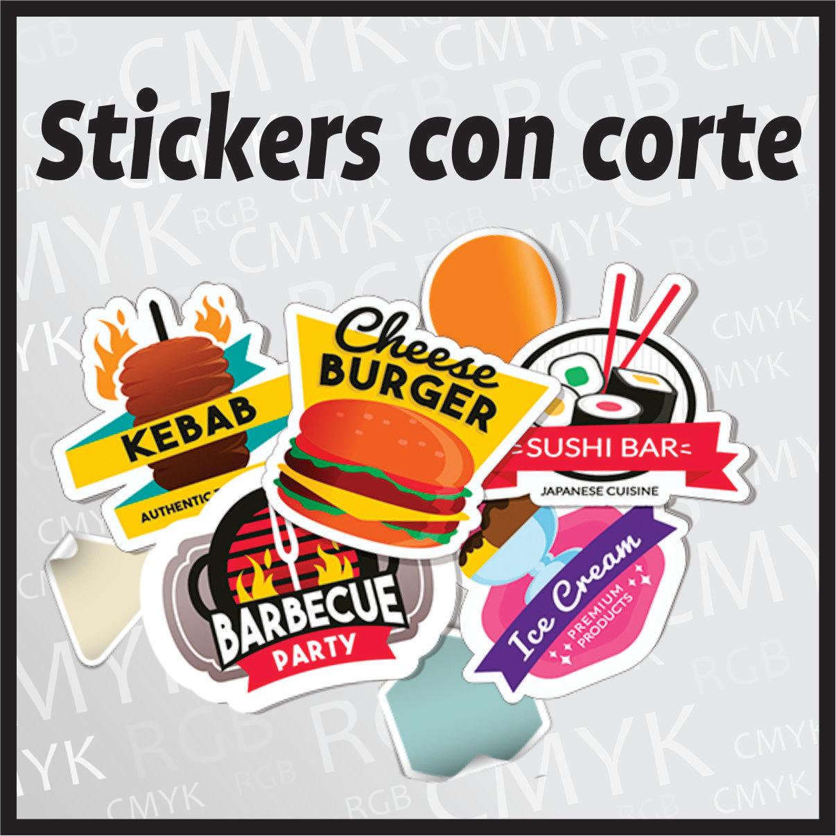 Stickers con corte