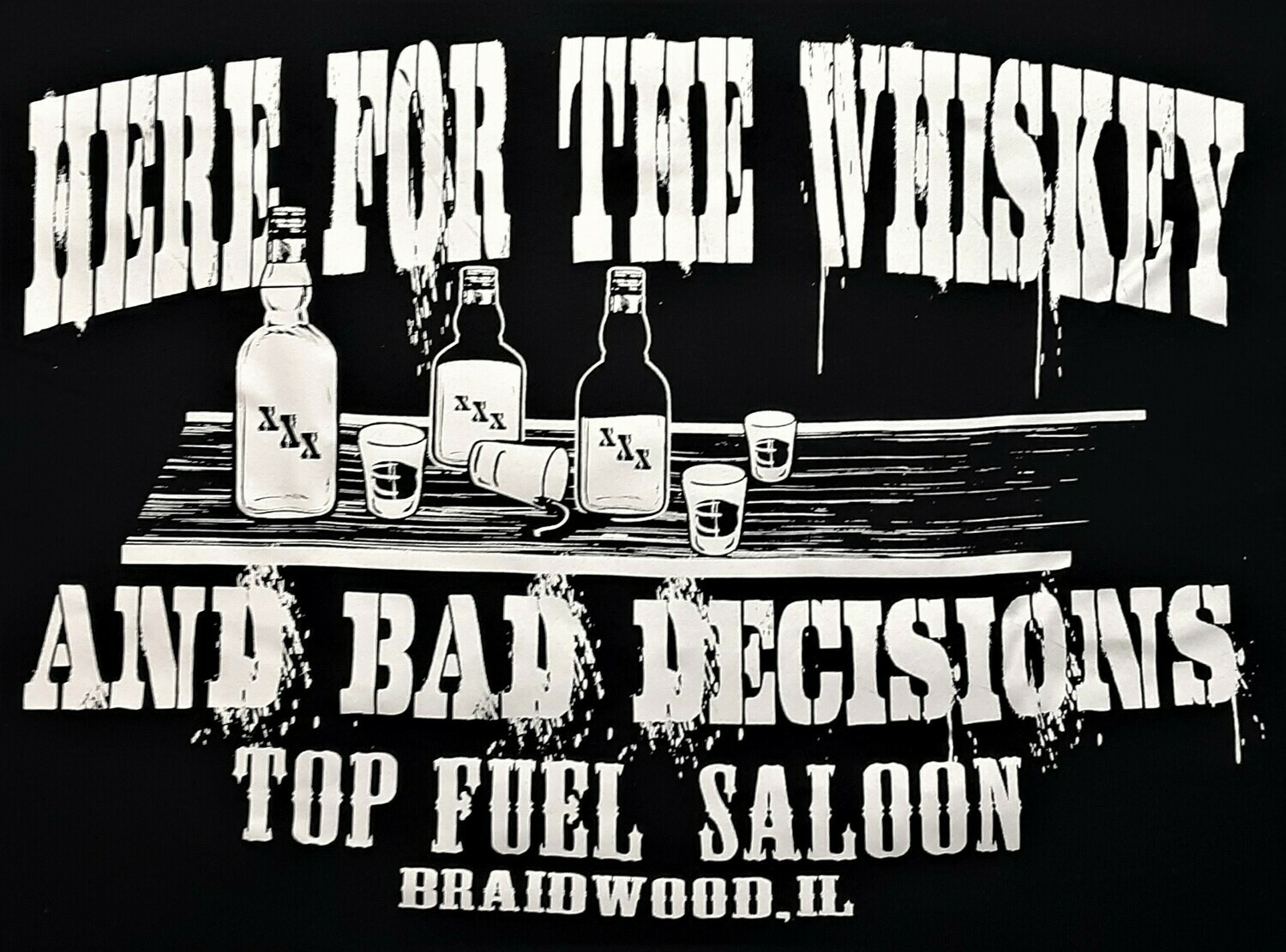 T/F.S. Whiskey & Bag Decisions Shirt