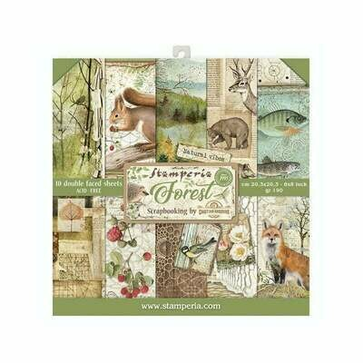 8 X 8 inch Forest Collection