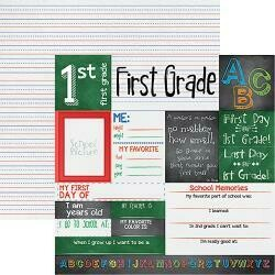 1st Grade Double sided cardstock