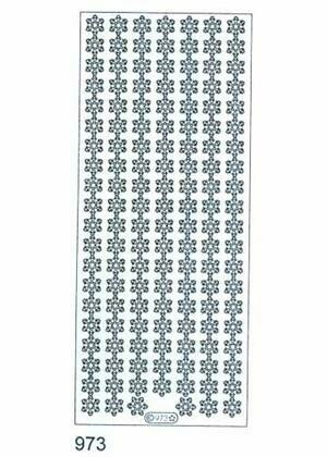 Snowflake Border Sticker