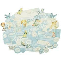 Peek-A-Boo Collectables Cardstock Die-Cuts Boy