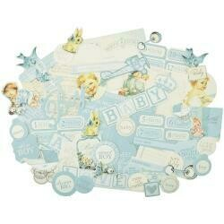 Peek-A-Boo Collectables Cardstock Die-Cuts Boy