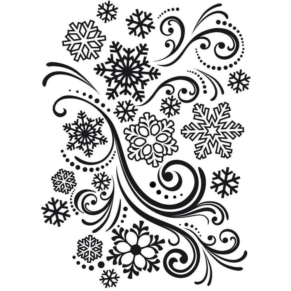 Snowflake Swirl