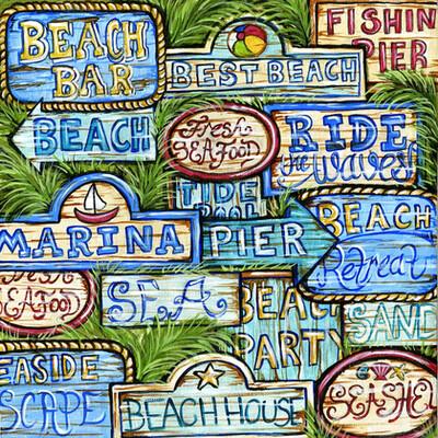 Seashore Signs