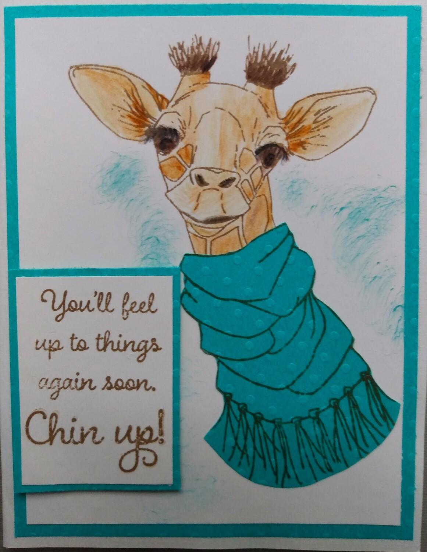 Giraffe Card Kit