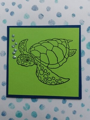 Sea Turtle Card Kit
