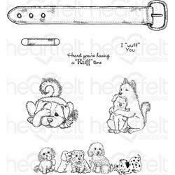 Dog Stamp Set from Heartfelt Creations