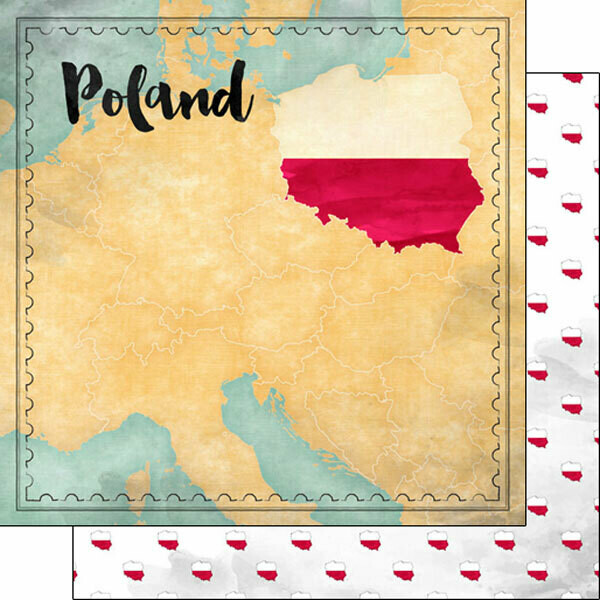 Poland Map Paper