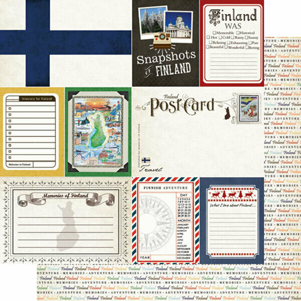 Finland Journal Cut Outs