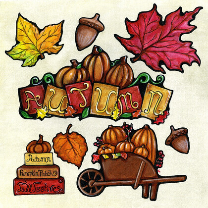 Autumn Time Cut Outs