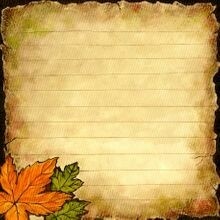 Fall Message