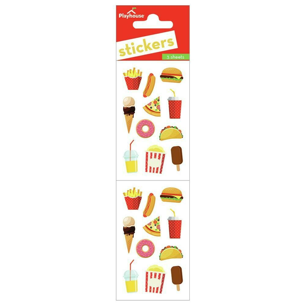 Junk Food Sticker