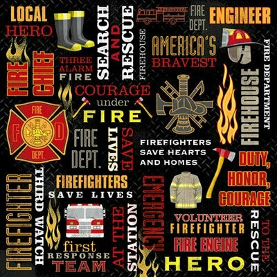 Firefighter Collage