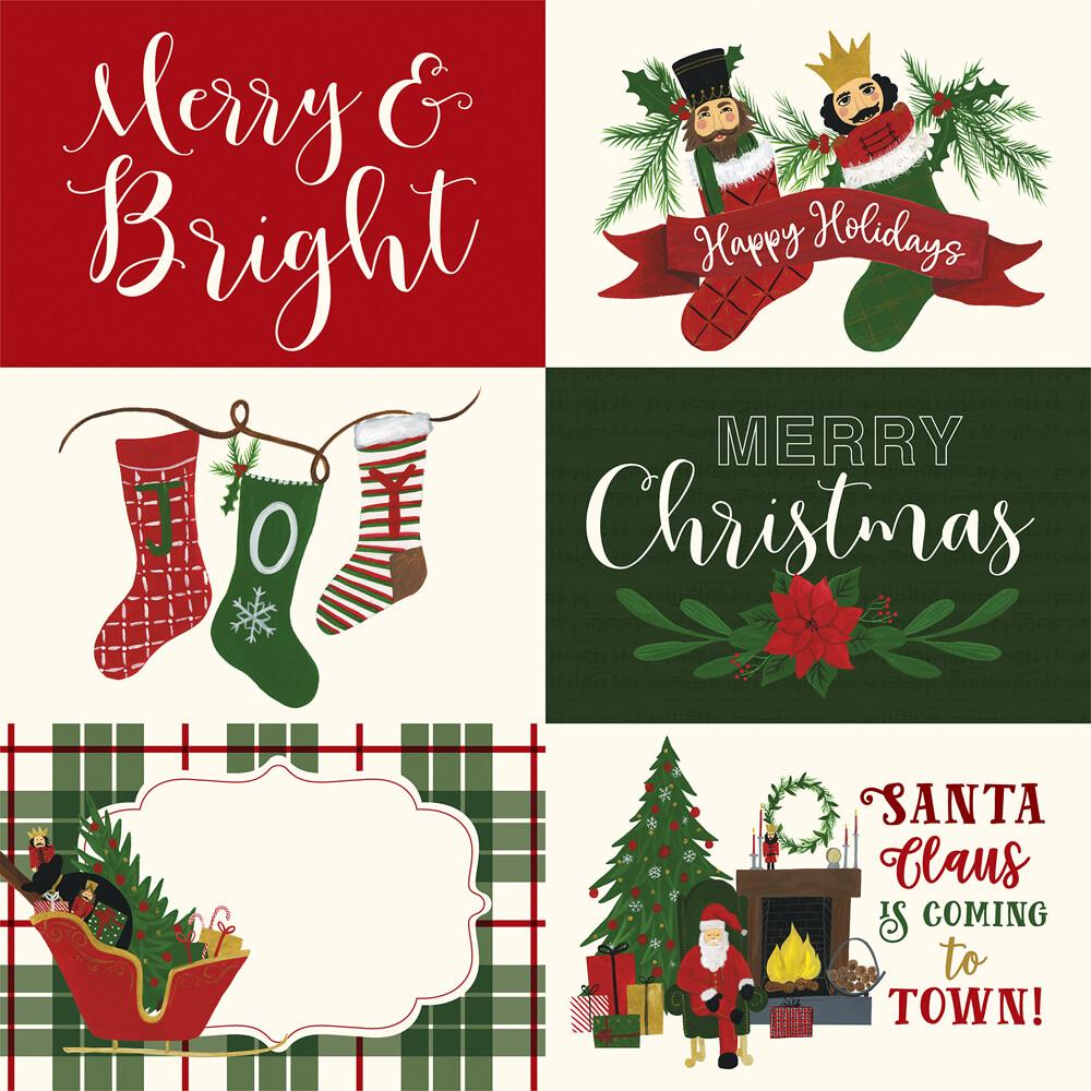 Santa Journaling Cards