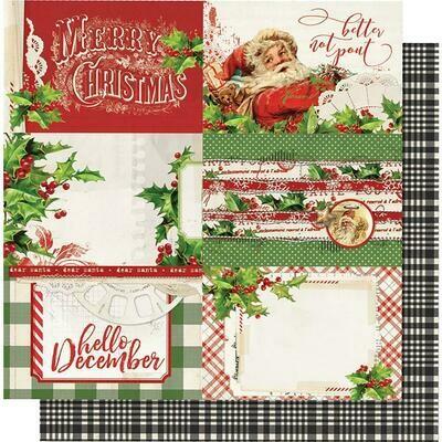 Simple Vintage Christmas