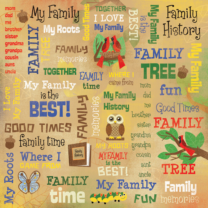 My Family Collage