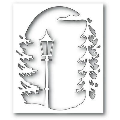 Lamplight Tree Collage