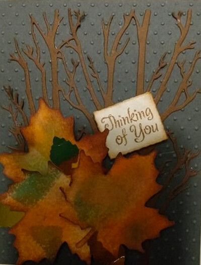 Thinking of You Autumn Card Kit