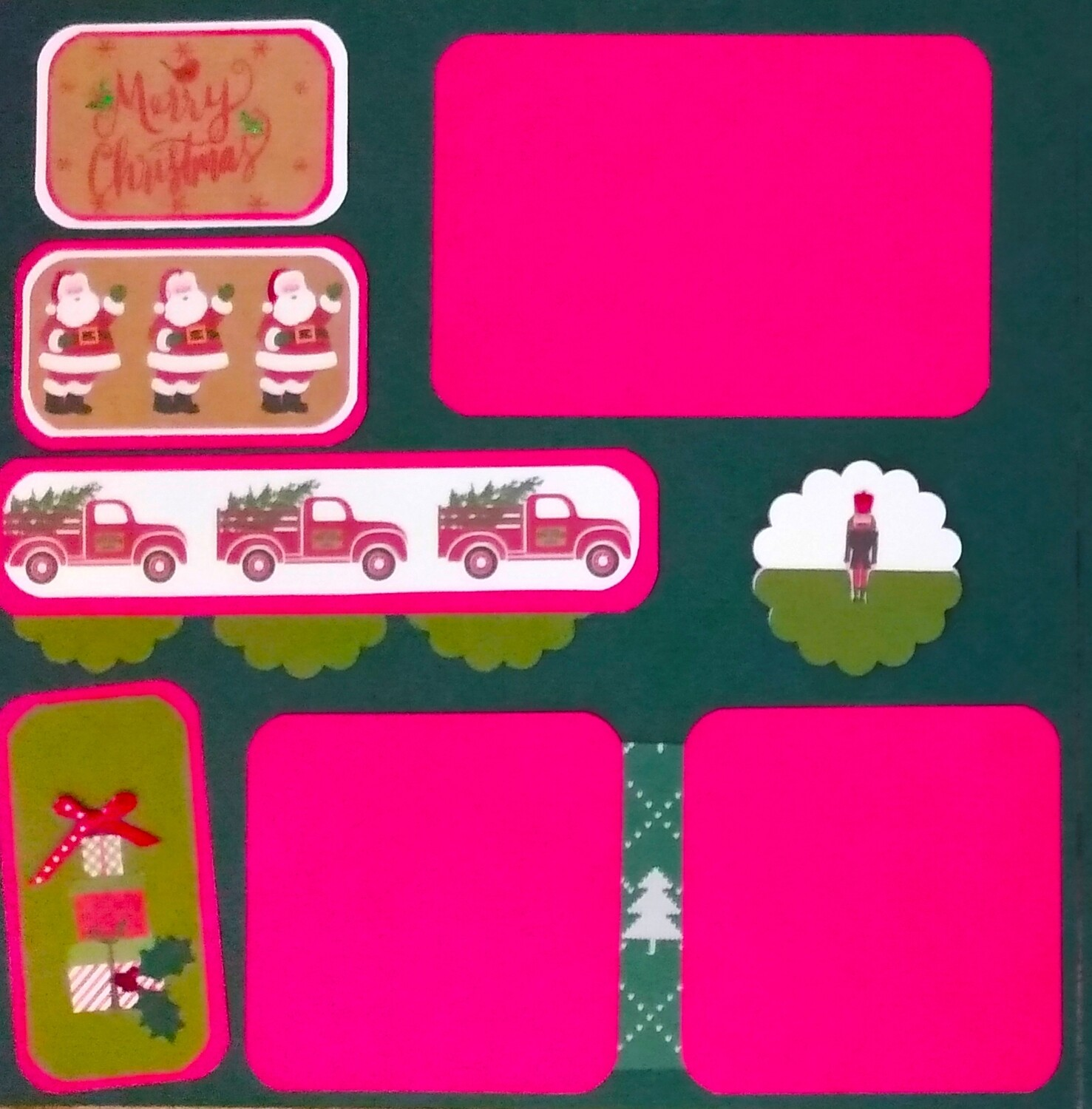 Christmas Two Page Layout 2020