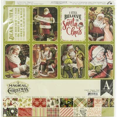 Magical Christmas Paper Pad