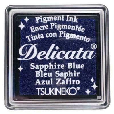 Sapphire Blue small Delicata ink pad
