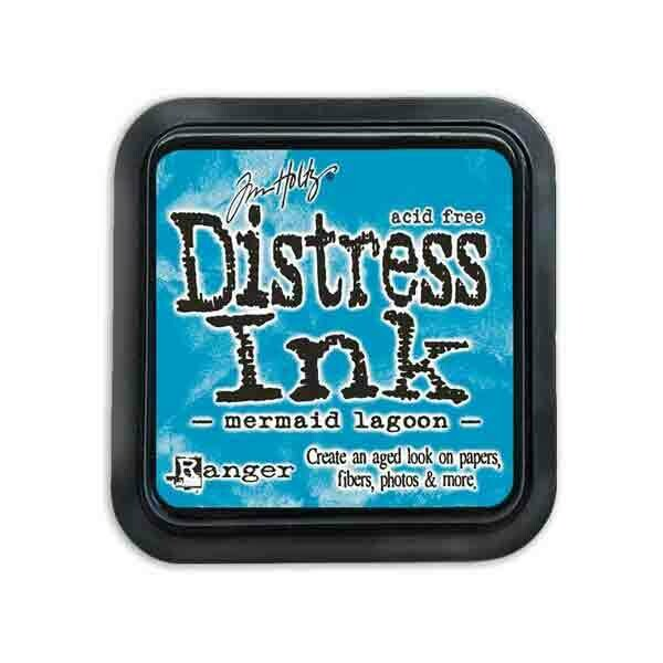 Mermaid Lagoon Distress Ink