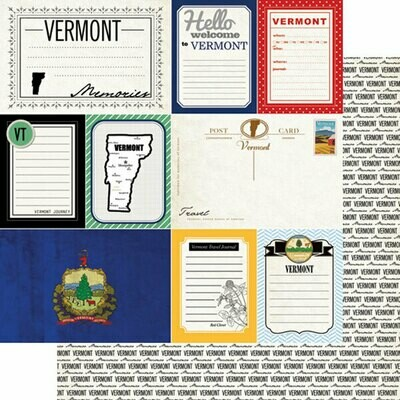Vermont Vintage Travel Journal