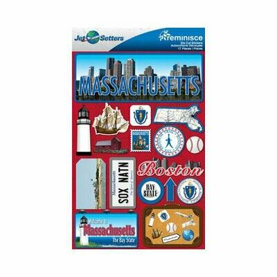 Massachusettes Stickers