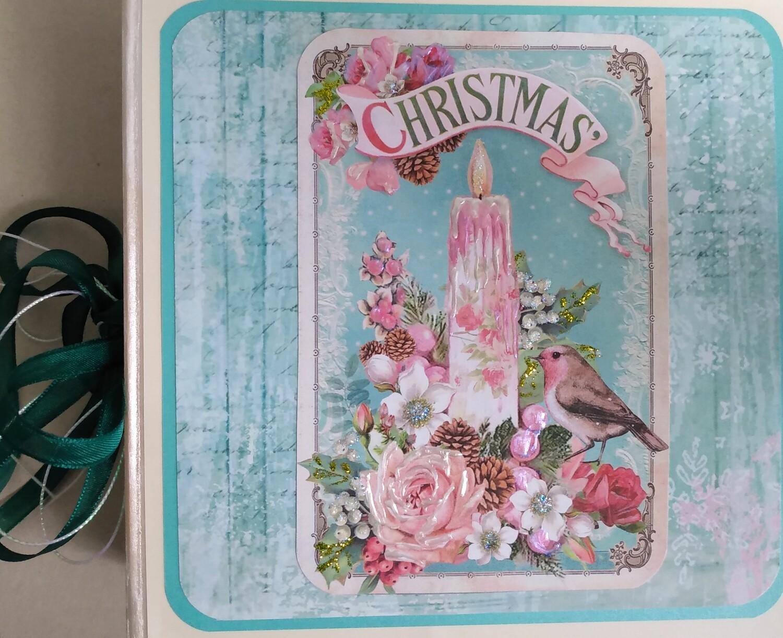 Pink Christmas Mini Album