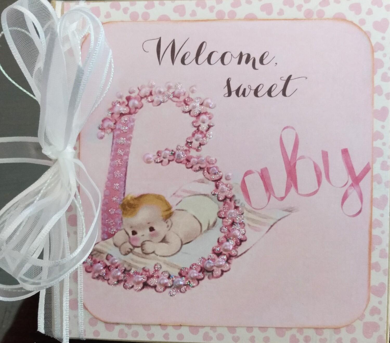 Welcome Baby Girl Mini Album