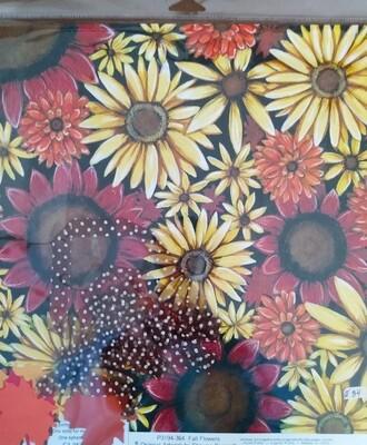 Fall Flower Layout