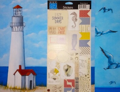 Lighthouse and Seagulls Layout