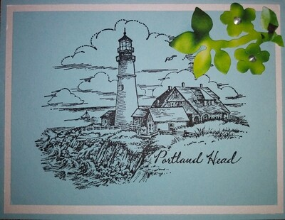 Maine Lighthouse Card Kit
