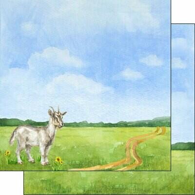 Goat Watercolor Paper