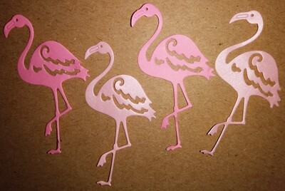 Flamingo Die Cuts