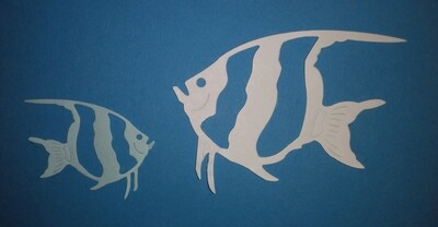 Angel Fish Die Cuts