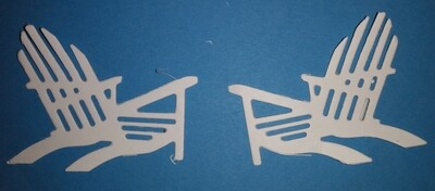 Adirondack Chair Die Cuts