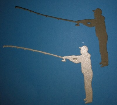 Fisherman Die Cut