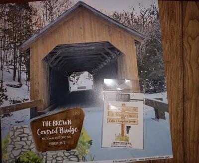 Vermont Covered Bridge Kit