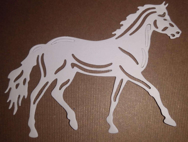 Horse Die Cut