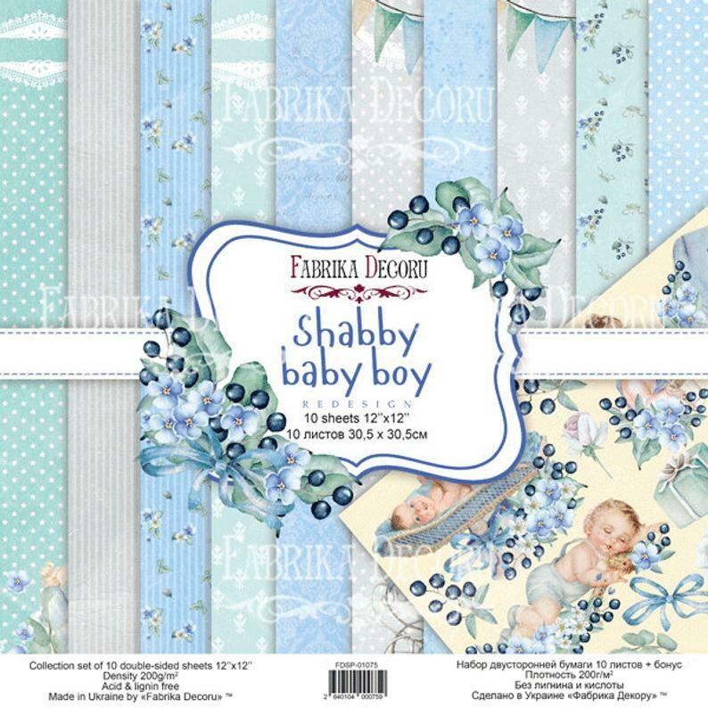Shabby Baby Boy