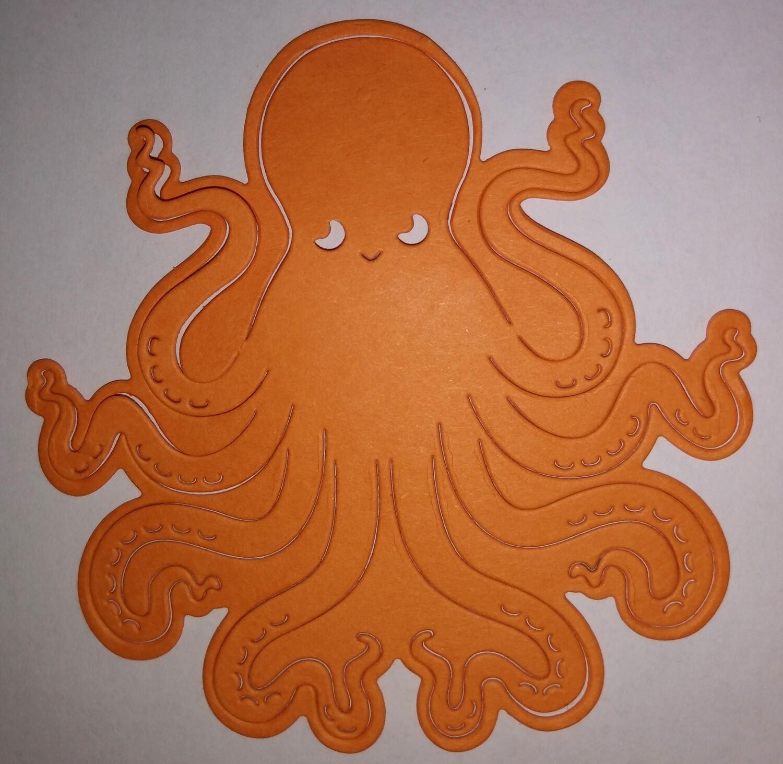 Octopus Die Cut