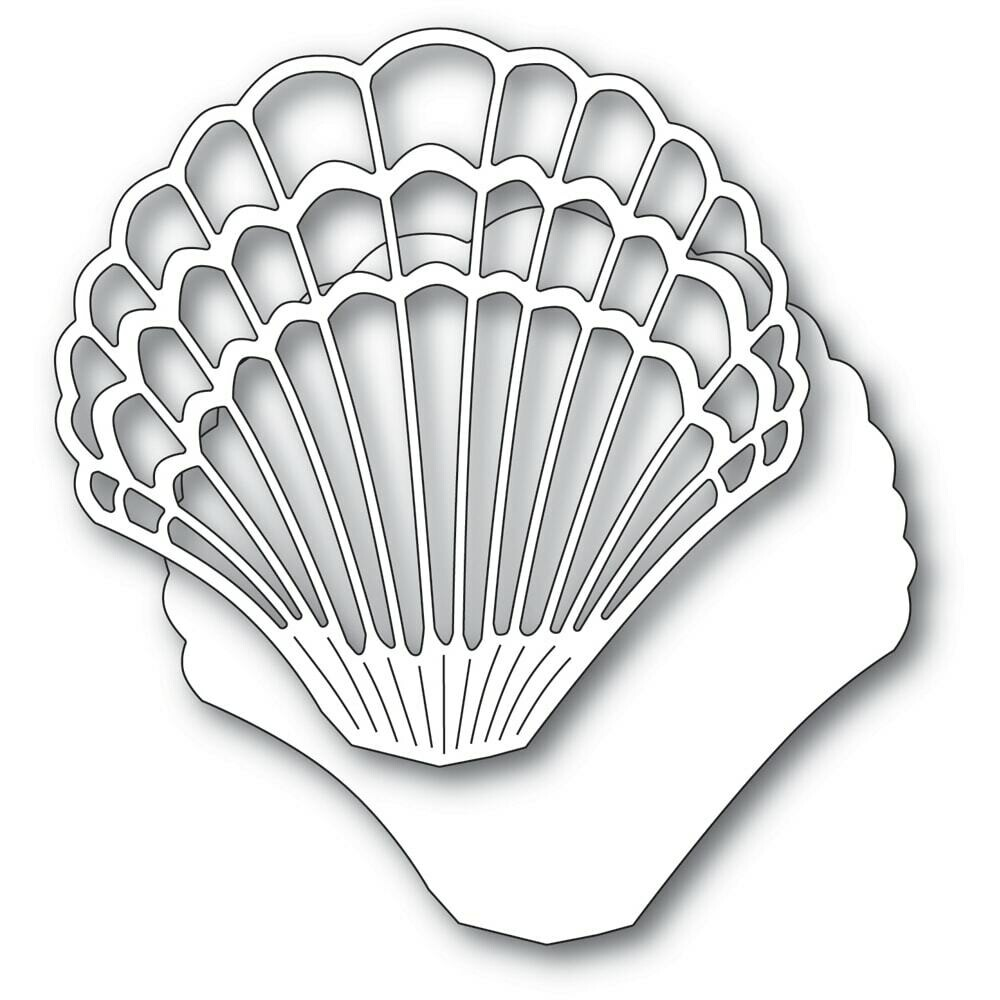 Grand Scallop Shell Die